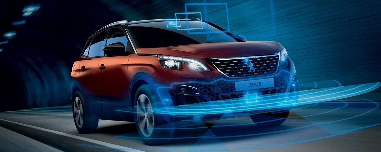 PEUGEOT 3008 SUV GT Line advanced driver assist systems
