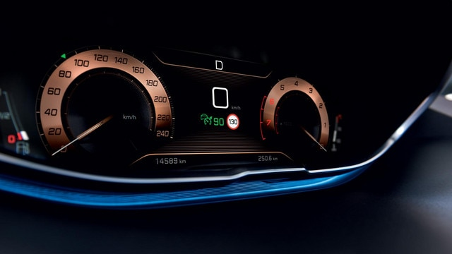 PEUGEOT 3008 SUV digital head up display