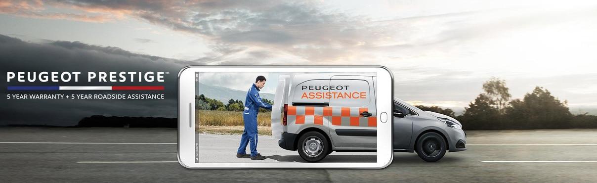 6031ec80bd5f01 PEUGEOT Prestige 5 year roadside assist