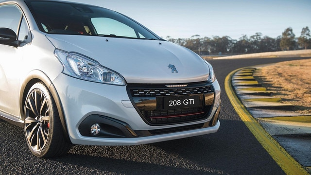 peugeot 208 gti new car showroom edition definitive
