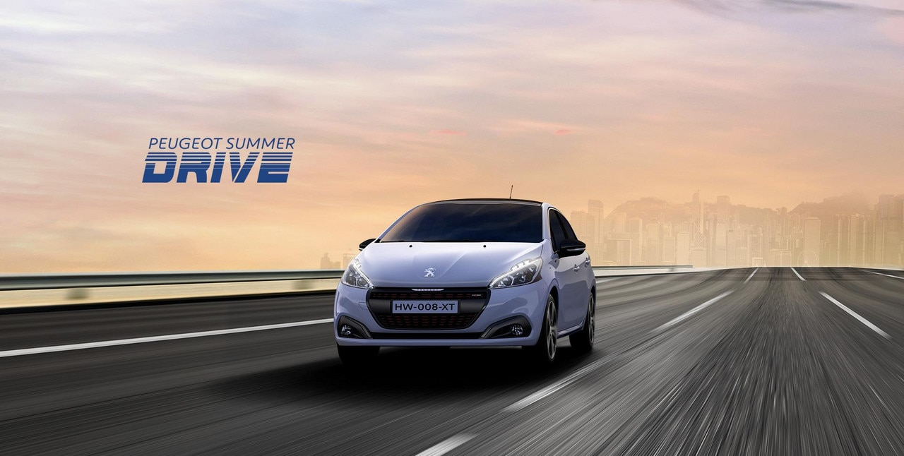 PEUGEOT 208 Summer Drive Offers