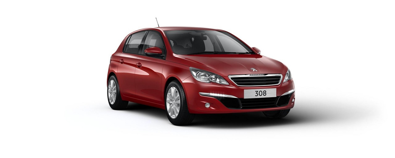 PEUGEOT 308 Active with metallic paint