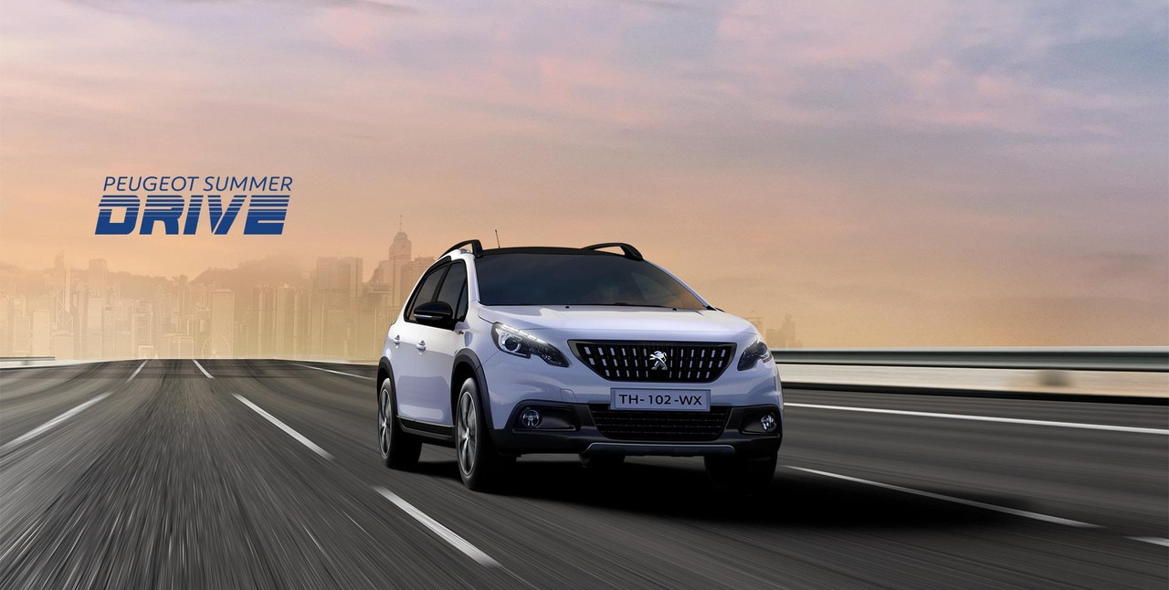 PEUGEOT 2008 SUV Summer Drive offers
