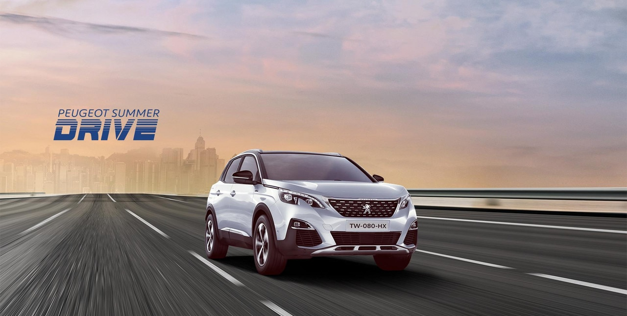 PEUGEOT 3008 SUV Summer Drive offers