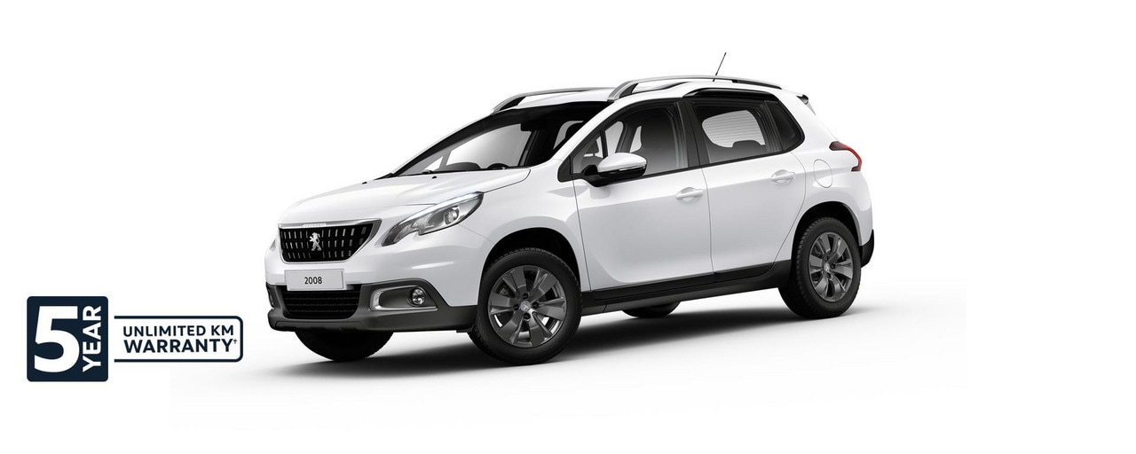 PEUGEOT 2008 Active SUV with 5 year warranty