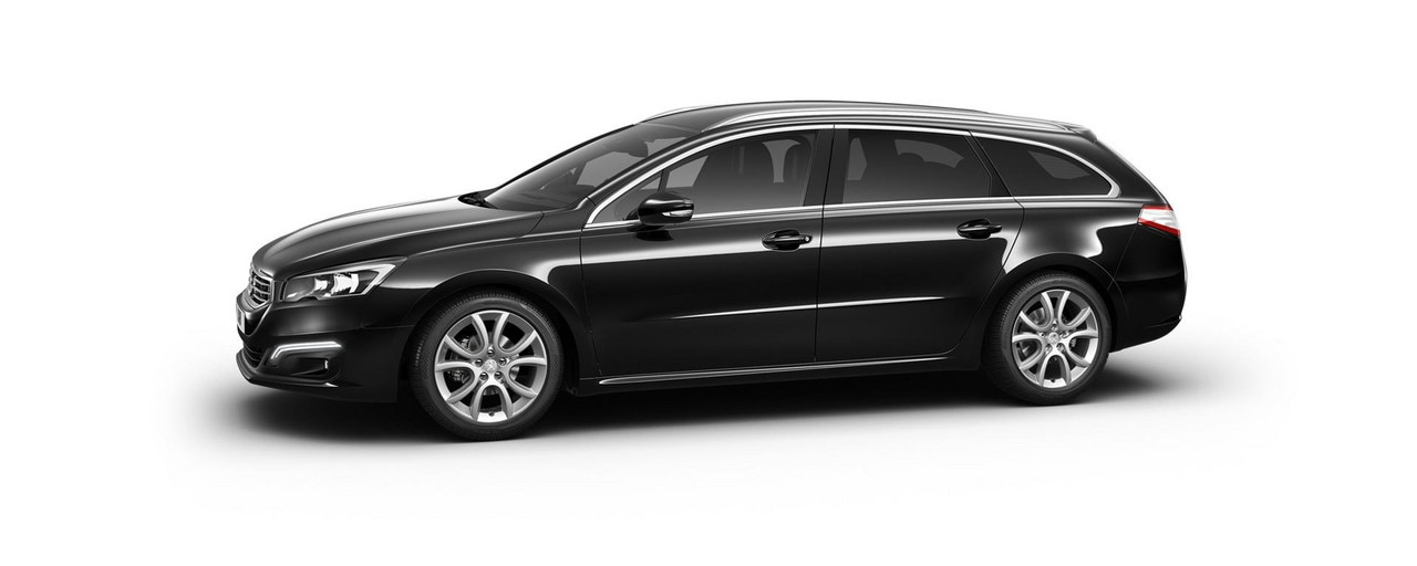 PEUGEOT 508 Touring Allure with metallic paint