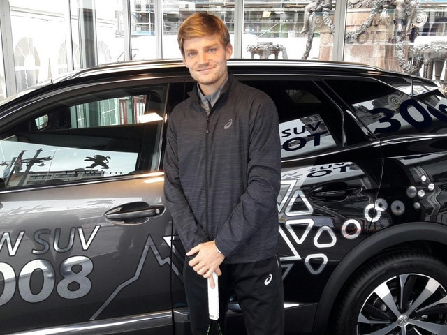 Peugeot Ambassador - David Goffin