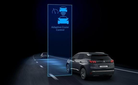 New PEUGEOT 3008 SUV Innovative Technology | Adaptive Cruise Control