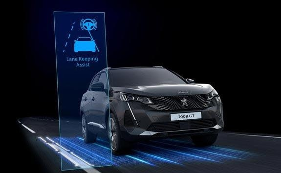 New PEUGEOT 3008 SUV Innovative Technology | Lane Keeping Assist