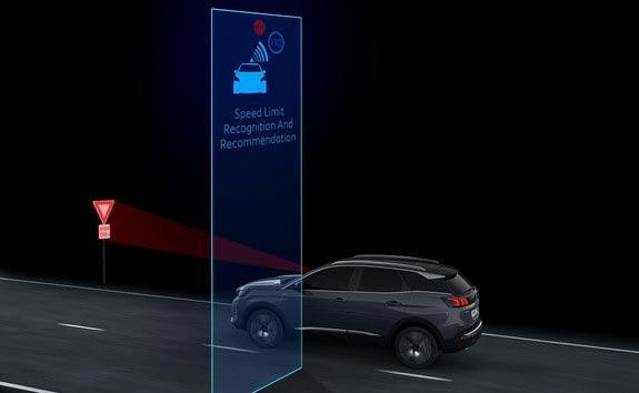 New PEUGEOT 3008 SUV Innovative Technology | Speed Limit Sign Recognition