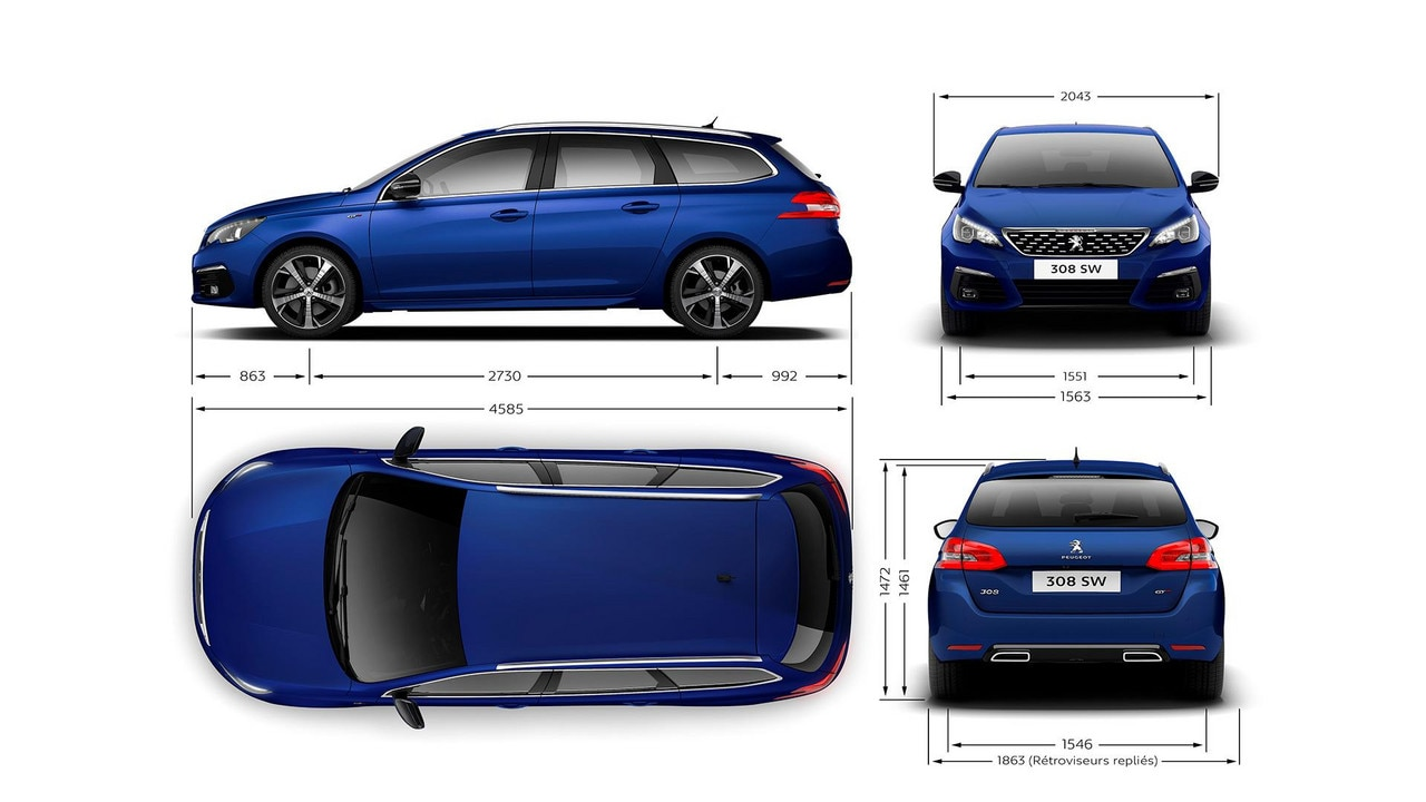 peugeot 308 touring new car showroom hatchback technical information. Black Bedroom Furniture Sets. Home Design Ideas