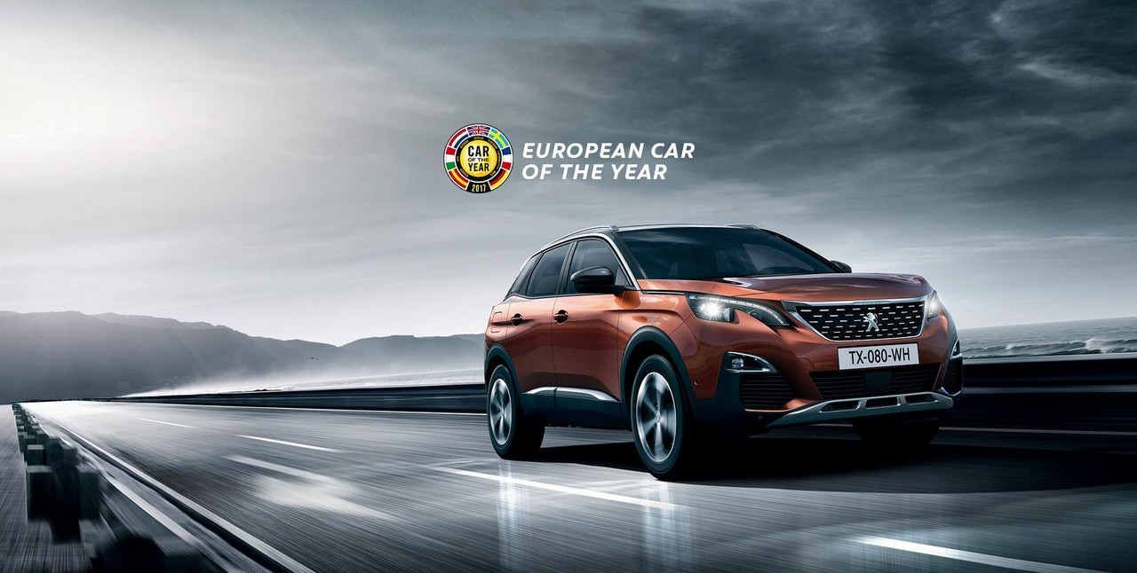 PEUGEOT 3008 SUV - voted 2017 European Car of the Year