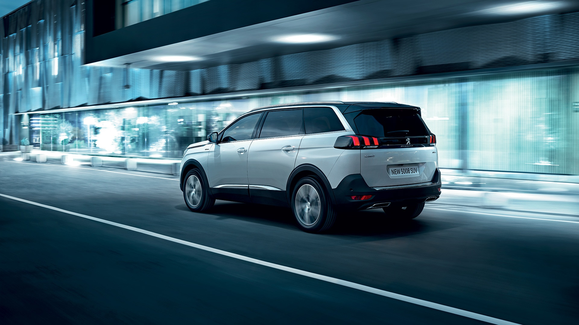 Peugeot 5008 New Car Showroom 7 Seat Suv Gt Line