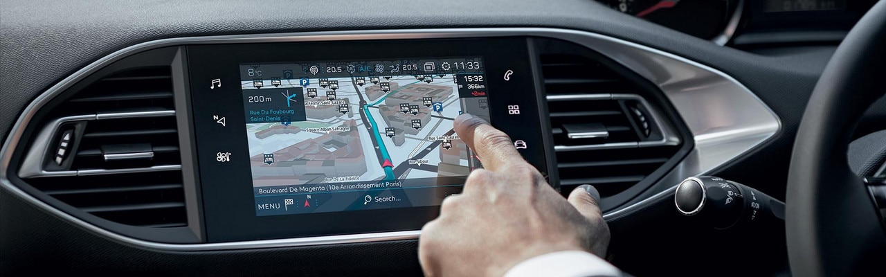 PEUGEOT 308 Touring 3D navigation