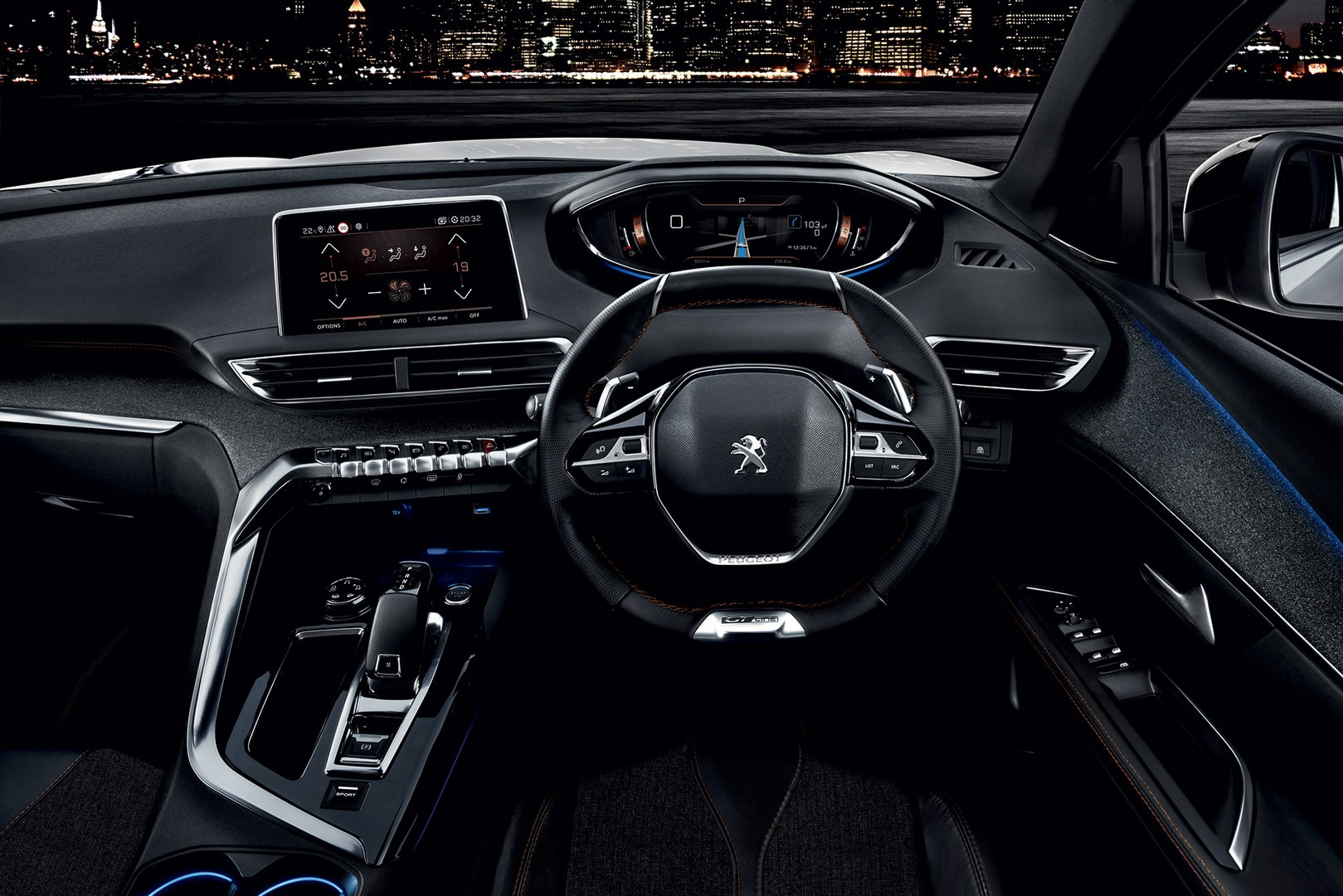 Peugeot 5008 New Car Showroom 7 Seat Suv Gt