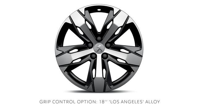 PEUGEOT 3008 SUV Grip Control option alloy wheels