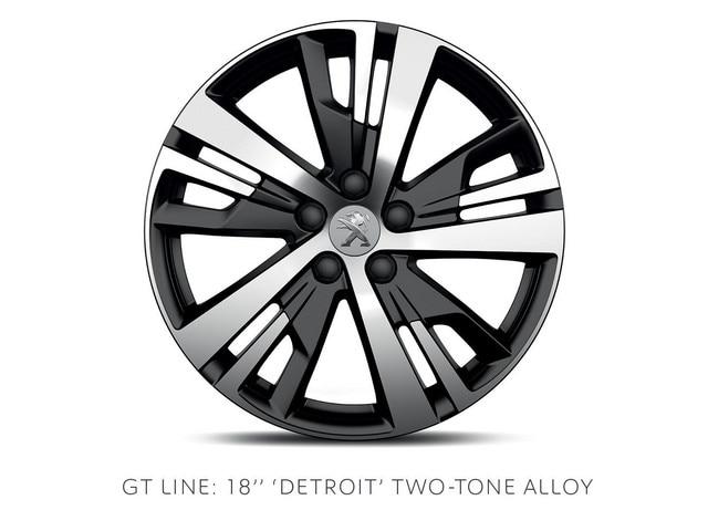 PEUGEOT 3008 SUV GT Line 18-in alloy wheels