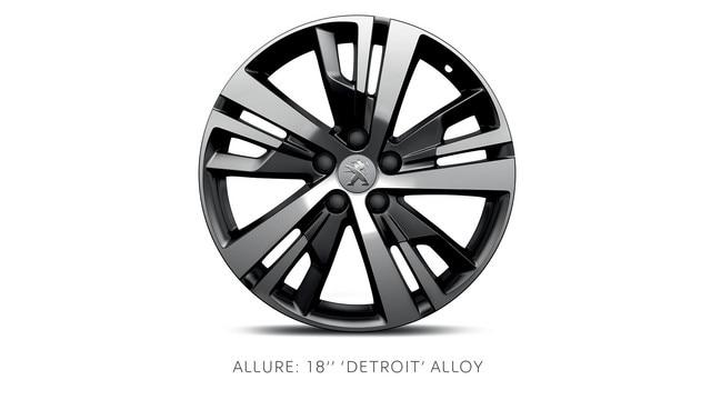 PEUGEOT 3008 SUV Allure 18-in alloy wheels
