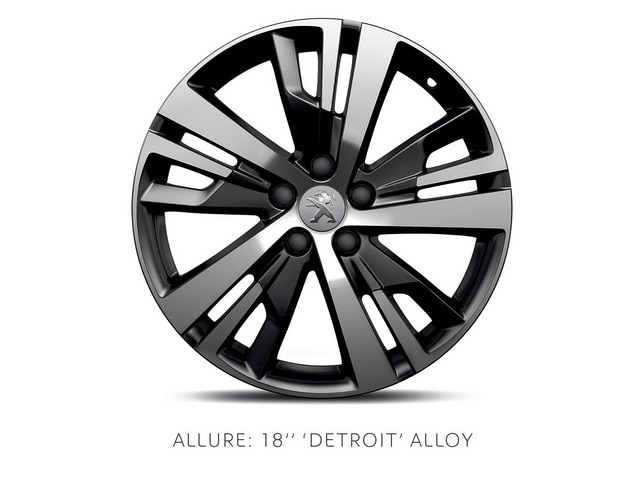 PEUGEOT 3008 SUV Allure 18-in alloy wheels