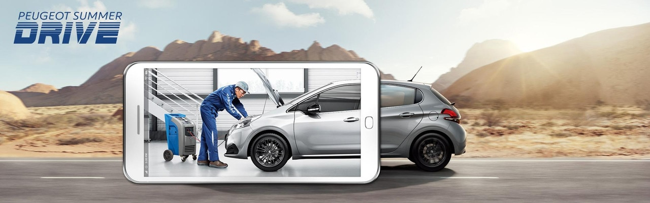 PEUGEOT Summer Drive Air Conditioning Offer