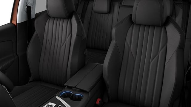 PEUGEOT 3008 SUV optional leather trim on Allure