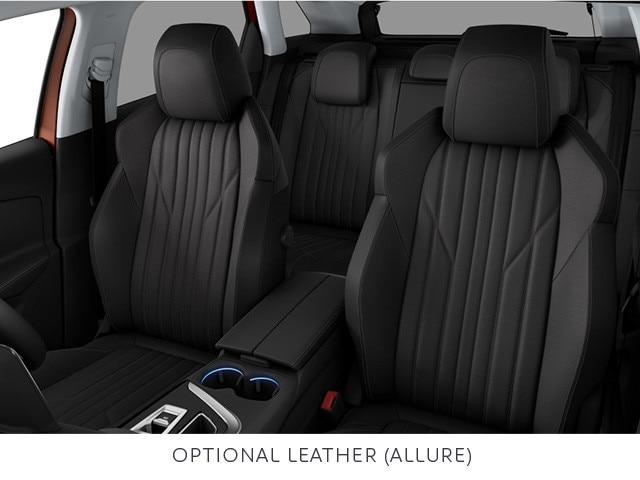 PEUGEOT 3008 SUV optional leather trim on Allure