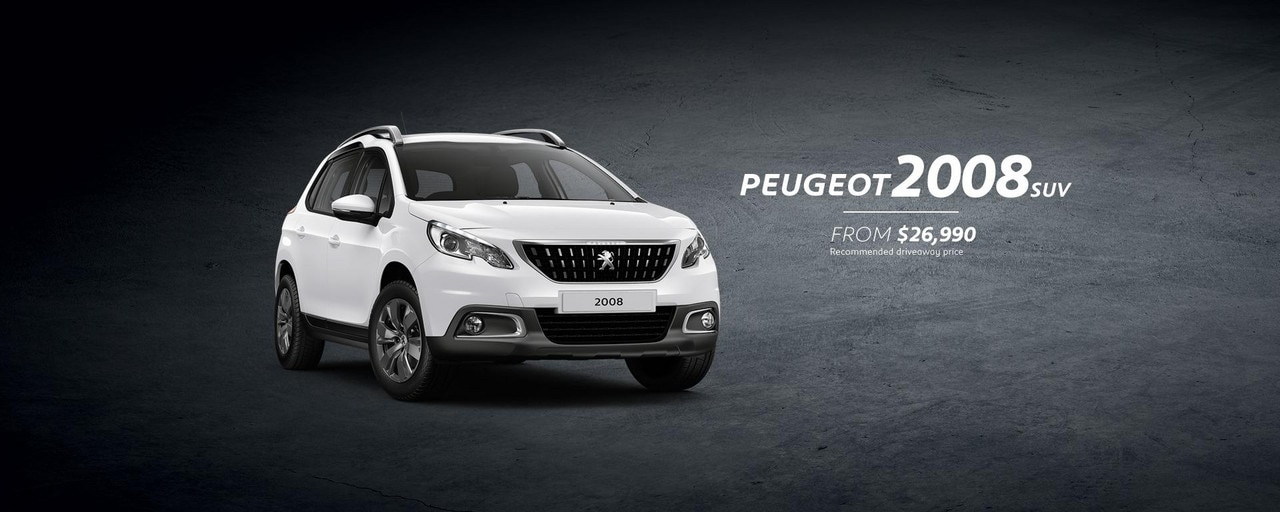 PEUGEOT 2008 SUV Active from $26,990 driveaway