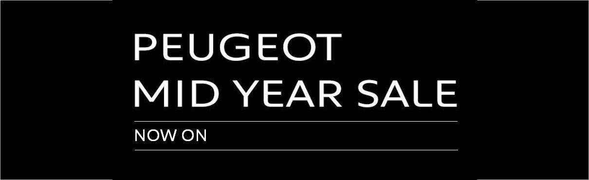PEUGEOT Mid Year Sale - 1210x370