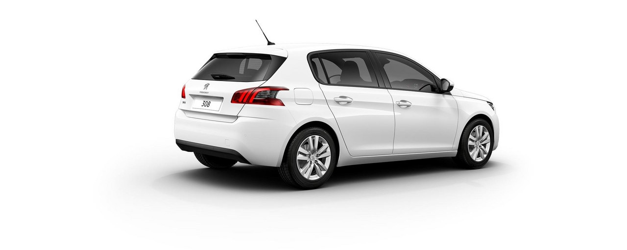 PEUGEOT 308 Active white rear