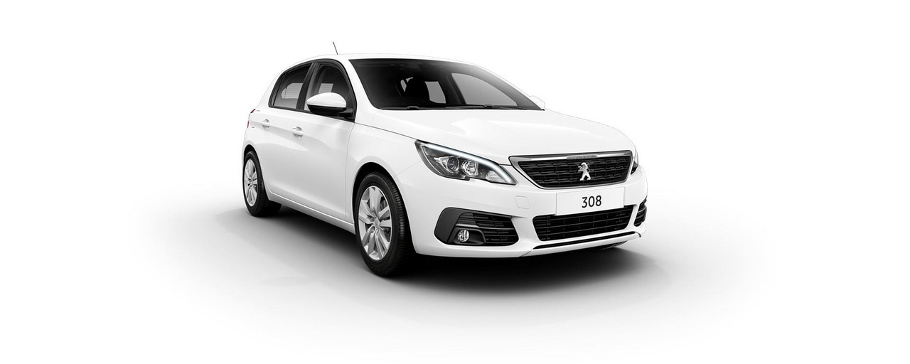 PEUGEOT 308 Active white front