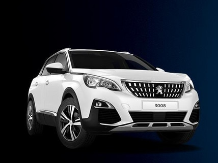 PEUGEOT 3008 SUV 2017 Plate Clearance