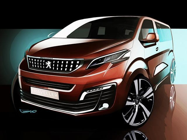 PEUGEOT Traveller I Lab Concept Car Design