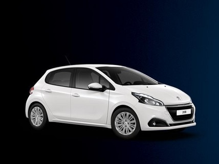 PEUGEOT 208 2017 Plate Clearance
