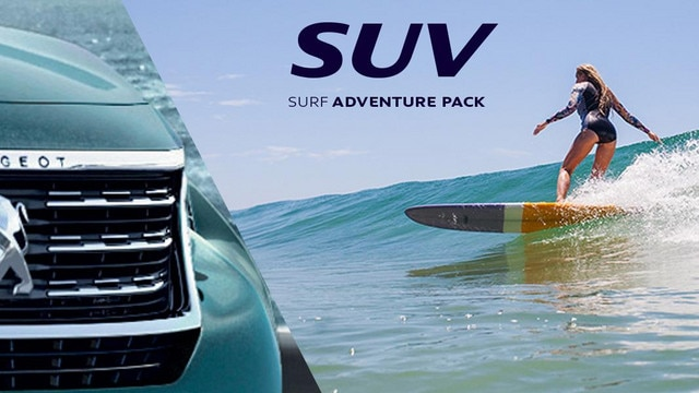PEUGEOT 5008 SUV adventure pack surf