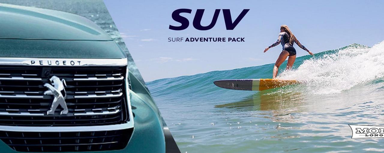 PEUGEOT 5008 SUV adventure pack surf
