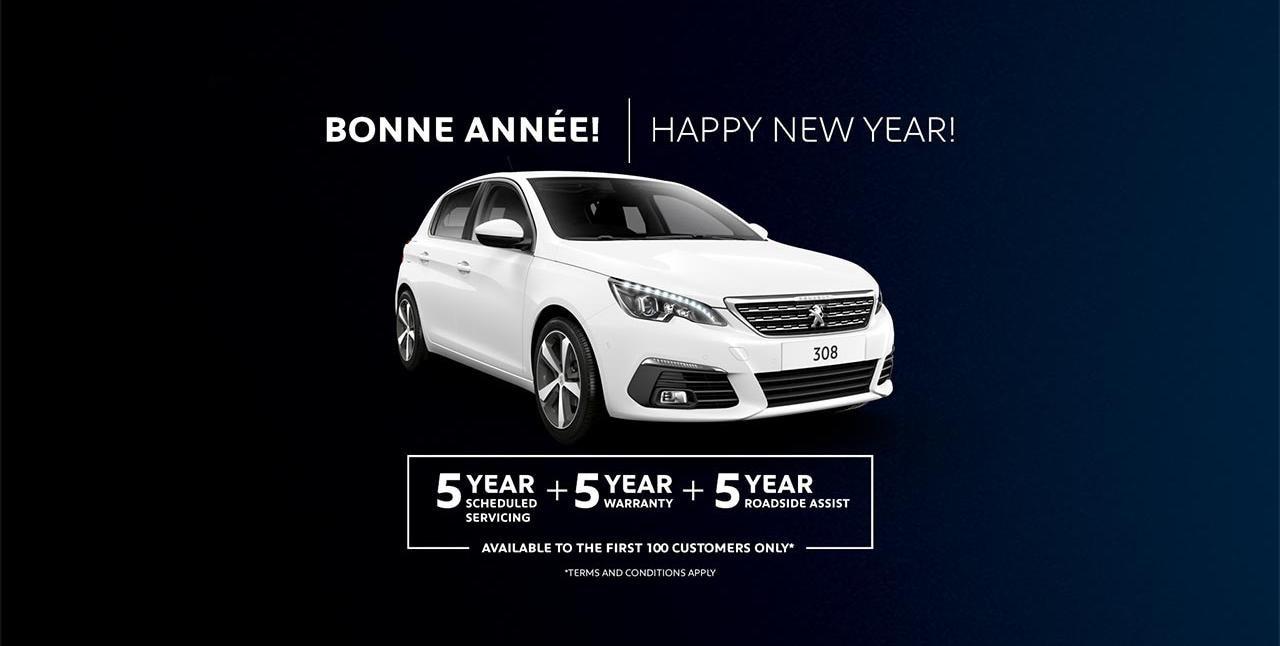 PEUGEOT 308 Bonne Année Sale | Happy New Year