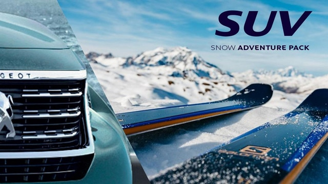 PEUGEOT 5008 SUV adventure pack snow