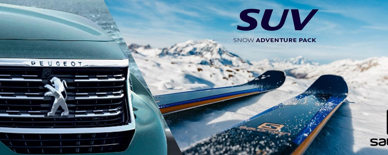 PEUGEOT 5008 SUV adventure pack snow