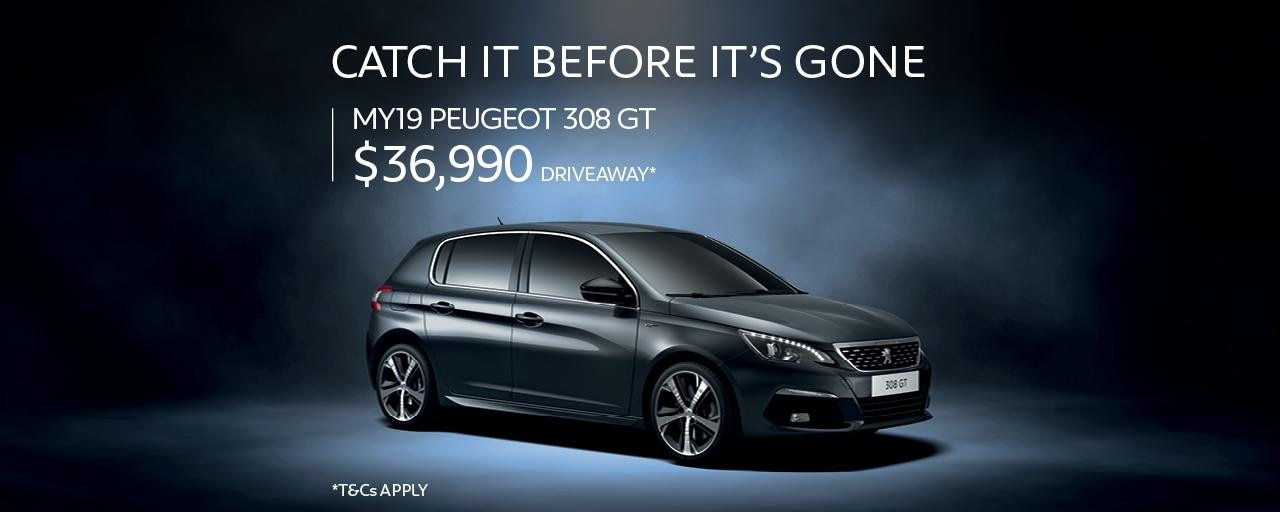 308 GT DRIVEAWAY OFFER
